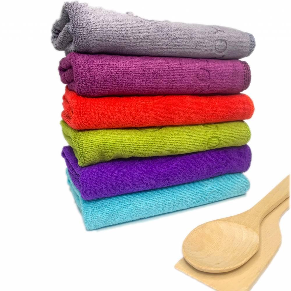 Полотенца для кухни микрофибра корона
