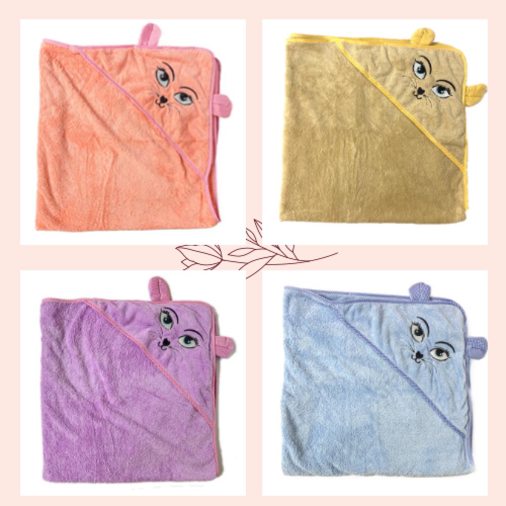 Полотенца с уголком Кошка