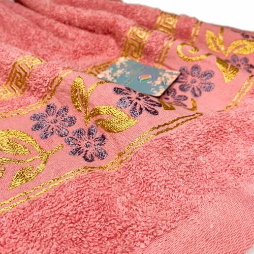 Полотенца банные ромашка/лист