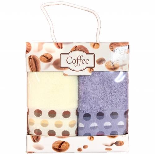 Набор полотенец  для кухни точки/кант
