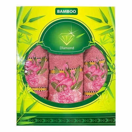 Набор полотенец Розовый фламинго