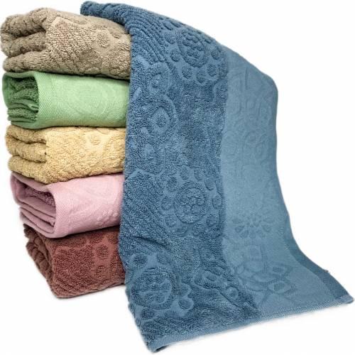 Полотенца для лица Цветок в горошек