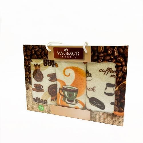 Набор полотенец кофе
