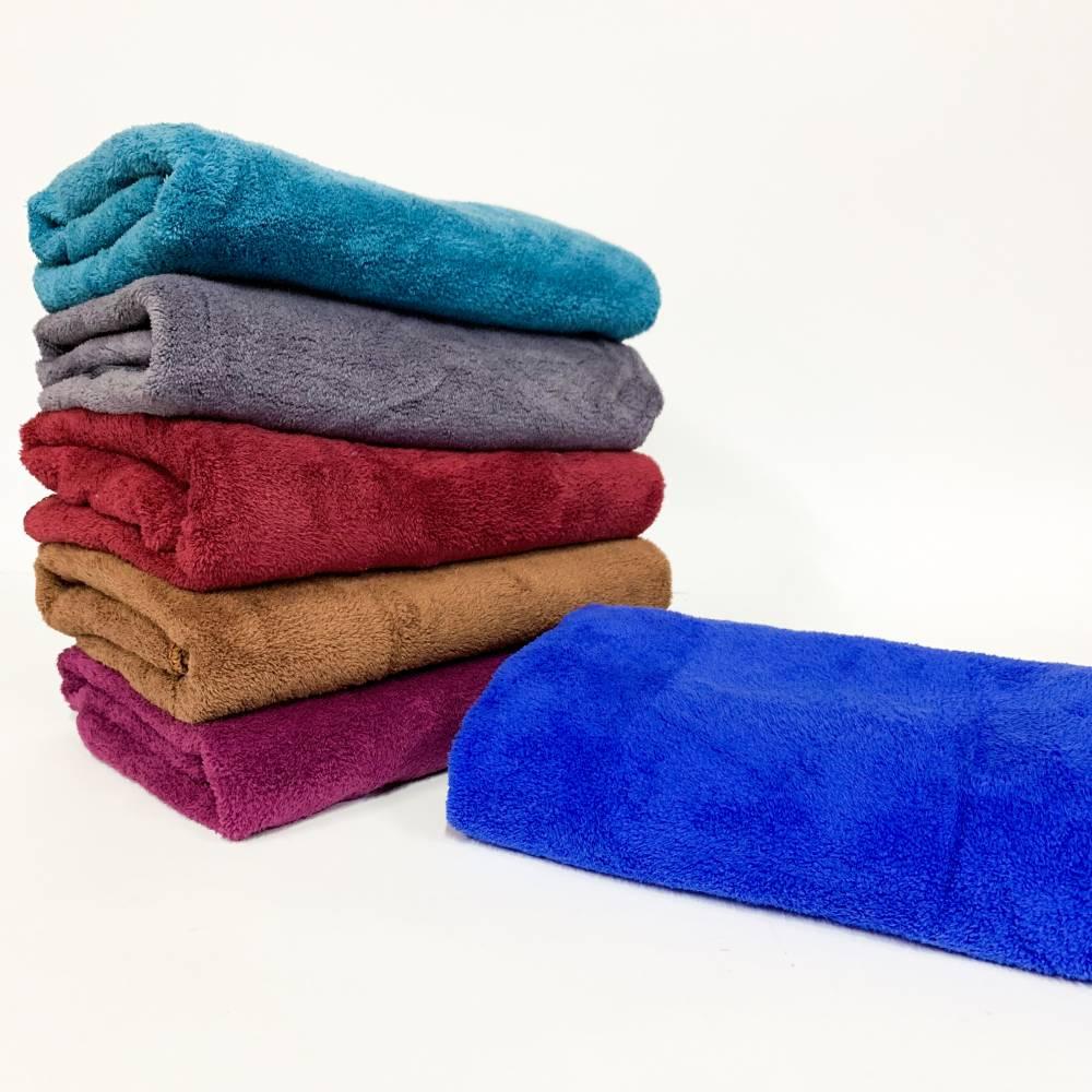 Полотенца для лица однотонные