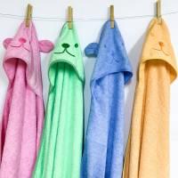 Каким должно быть детское полотенце: особенности выбора