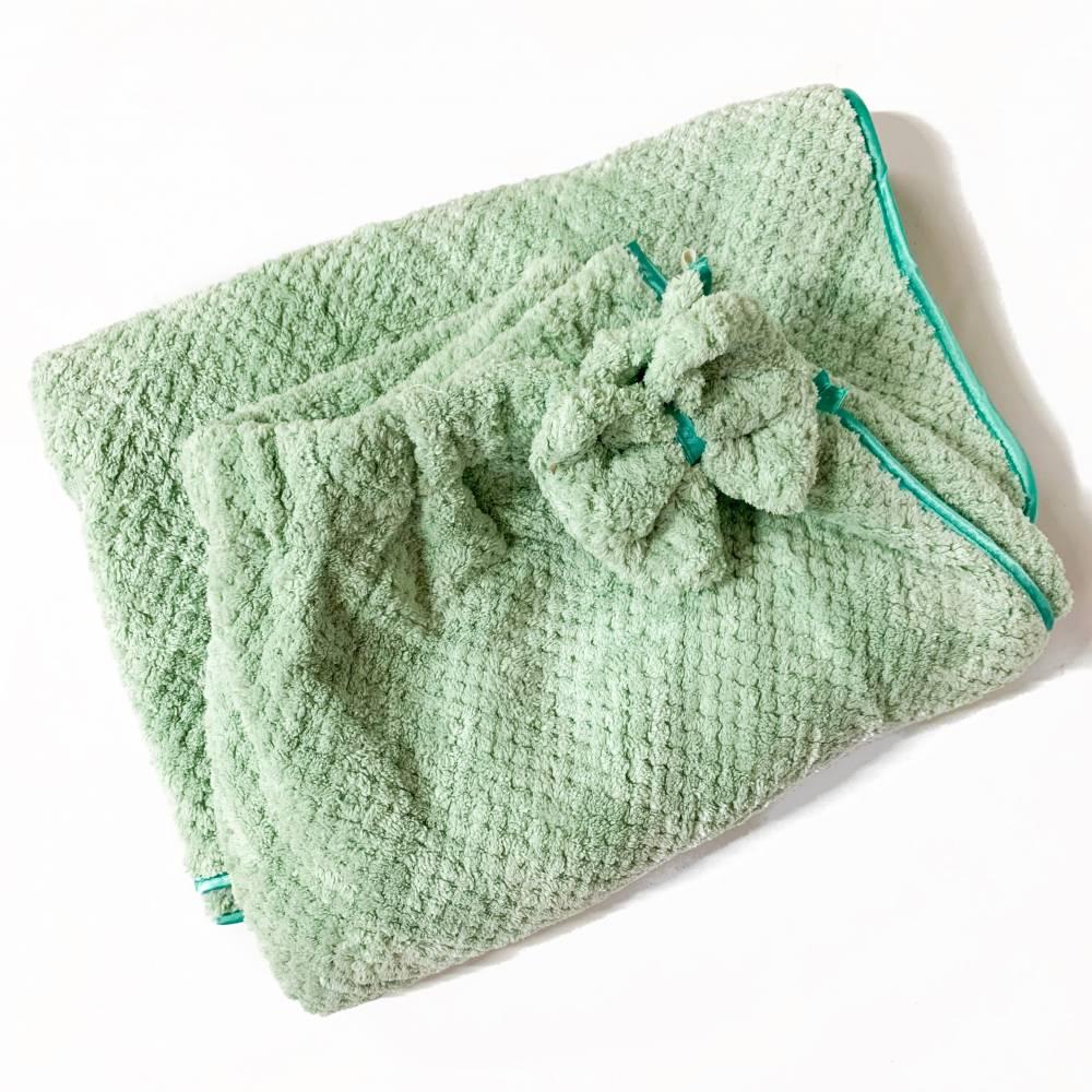 Полотенце-халат на пуговице