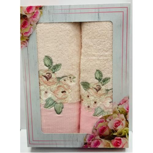 Набор полотенец Роза