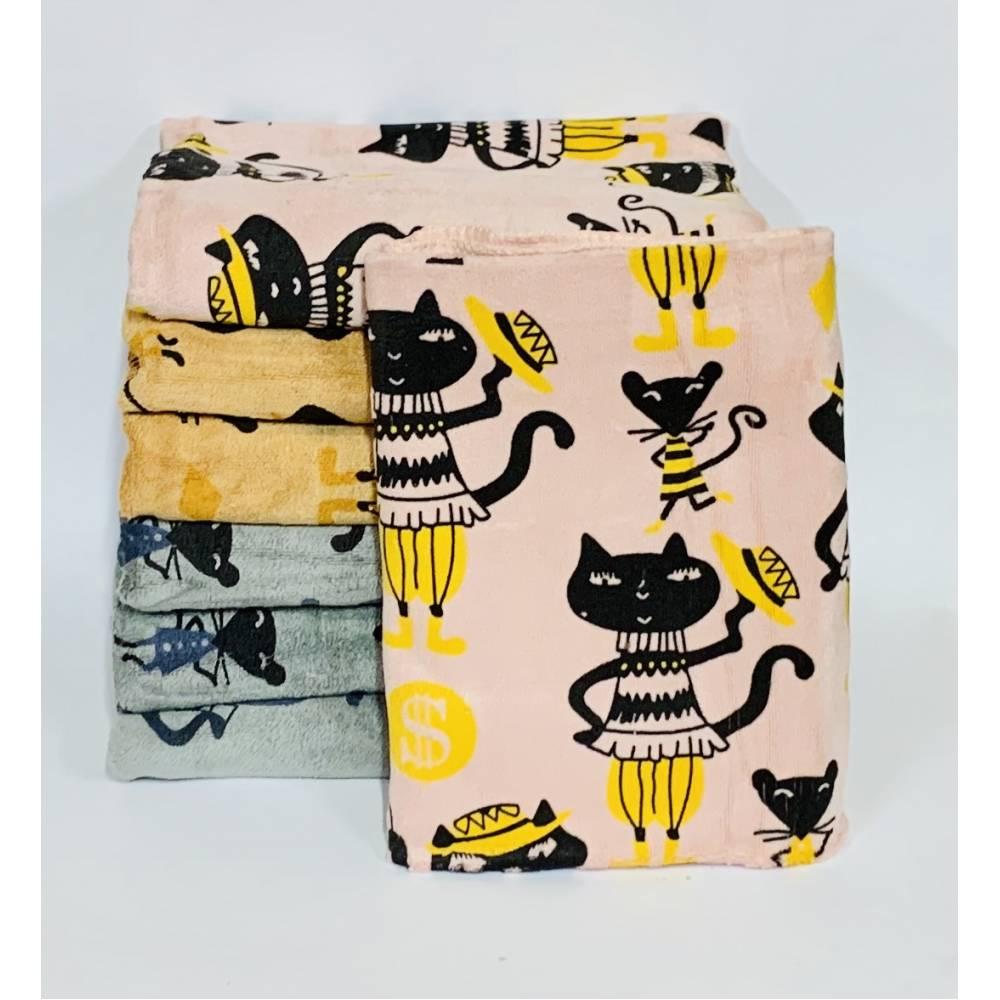 Метровые полотенца Котики