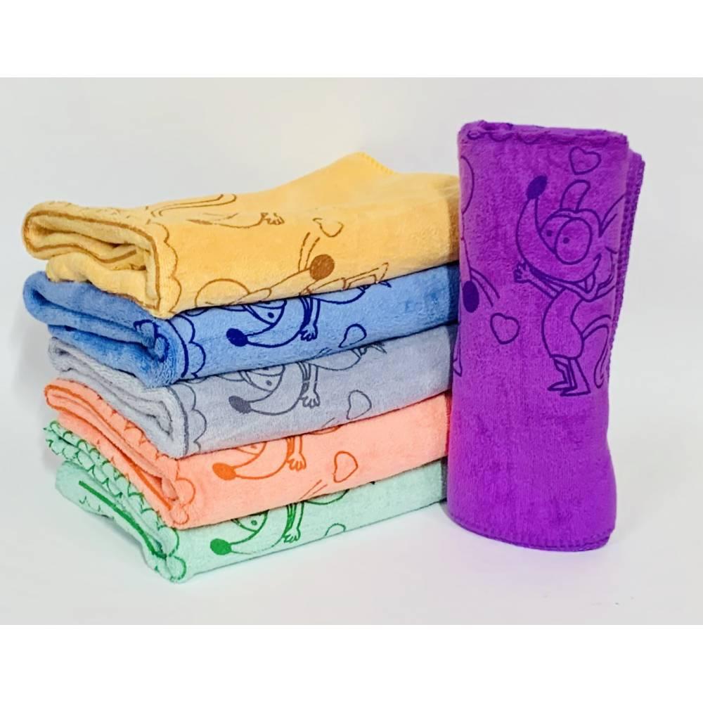 Банные полотенца Мышка 1 Микрофибра