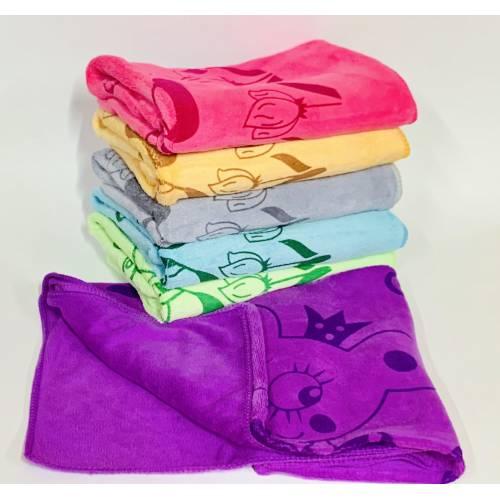 Банные полотенца Мышка Микрофибра