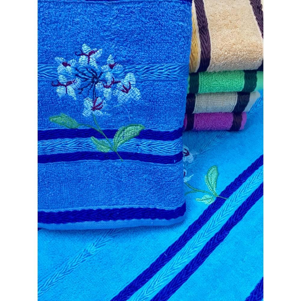 Метровые полотенца Цветок
