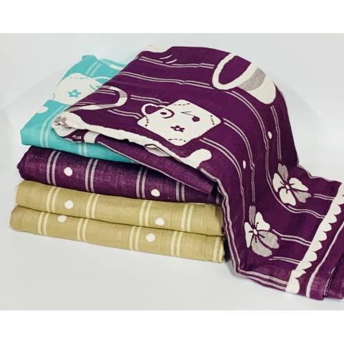 Банные полотенца Мышки Лён