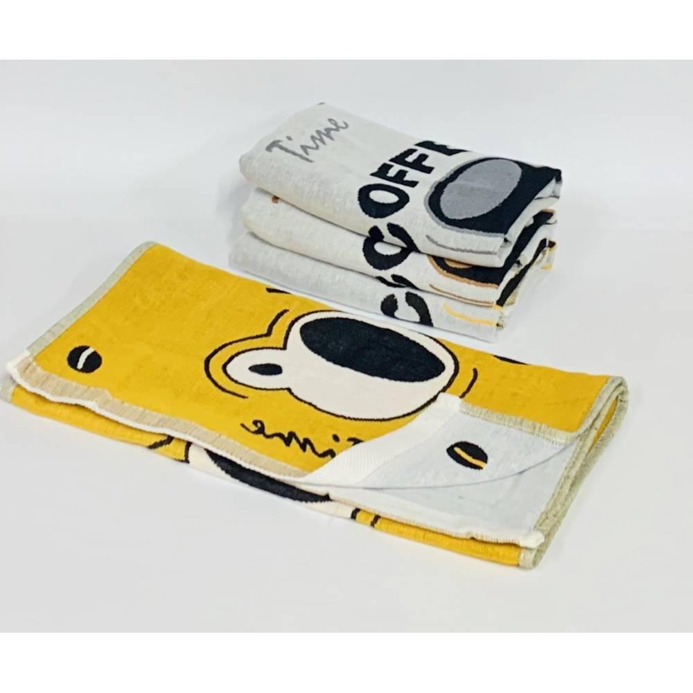 Кухонные полотенца Лён Кофе