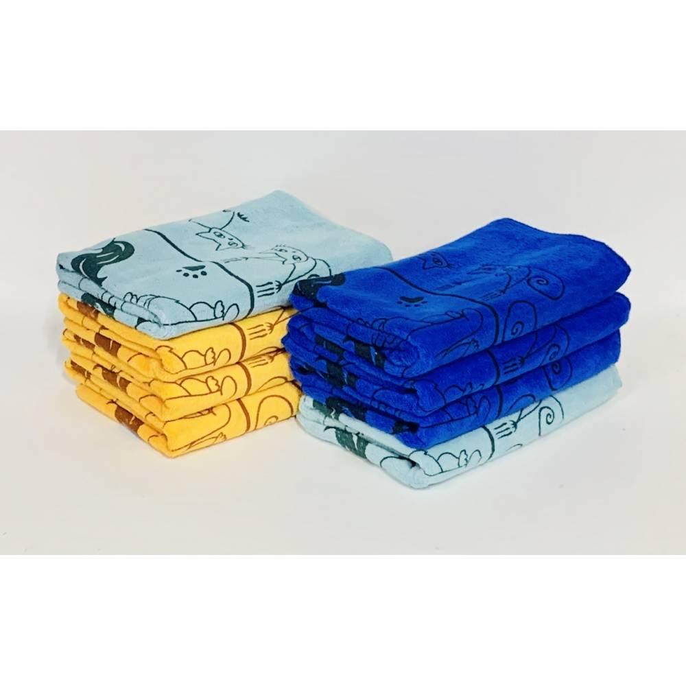 Метровые полотенца Коты лапки