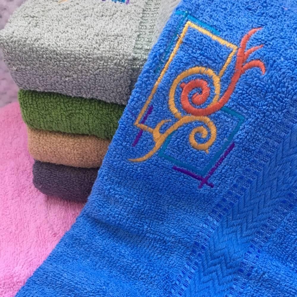 Метровые полотенца Квадрат-Завиток