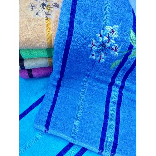 Банные полотенца Цветок
