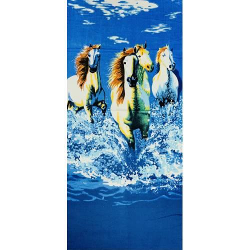 Велюровые пляжные полотенца