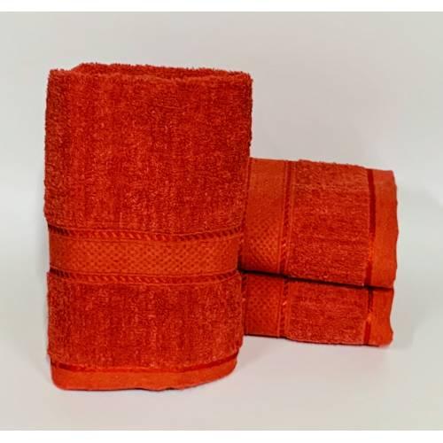 Банные полотенца Красные