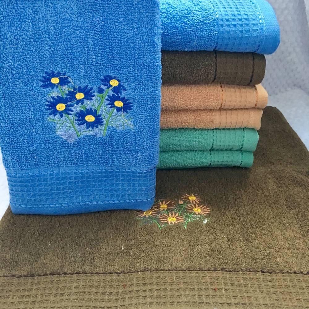 Метровые полотенца Волошки