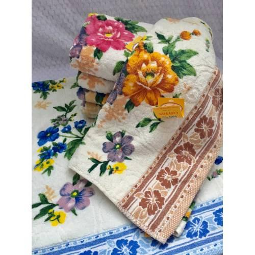 Банные полотенца Пион - Велюр