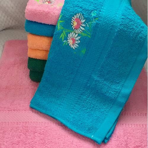 Банные полотенца Два цветка 8 ка