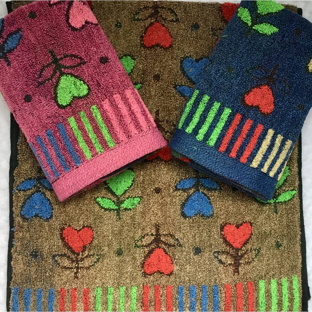 Кухонные полотенца Темное сердечко