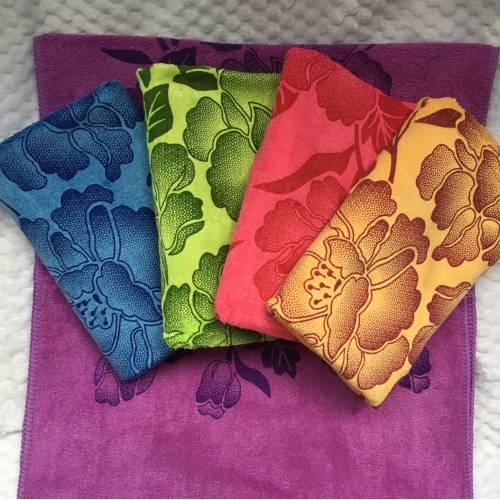 Метровые полотенца Цветы
