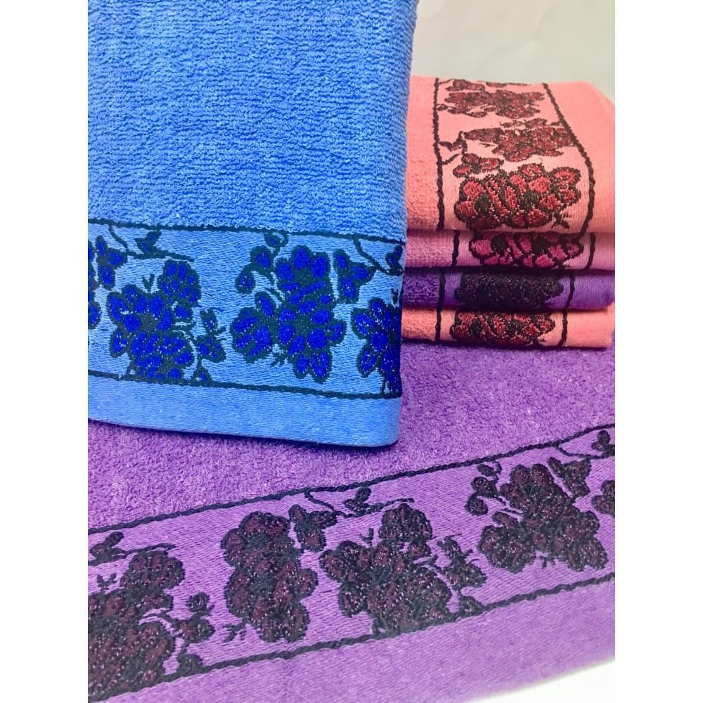 Метровые полотенца Цветочки 055