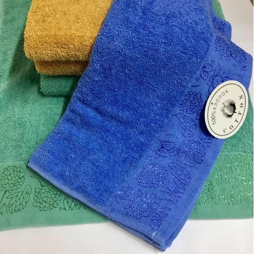 Метровые полотенца Цветочки 05