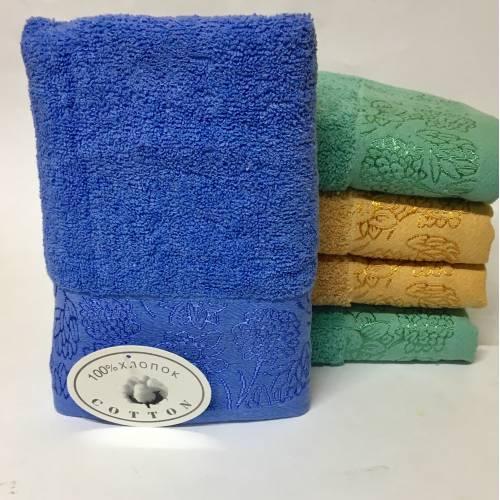 Банные полотенца Цветочки 05