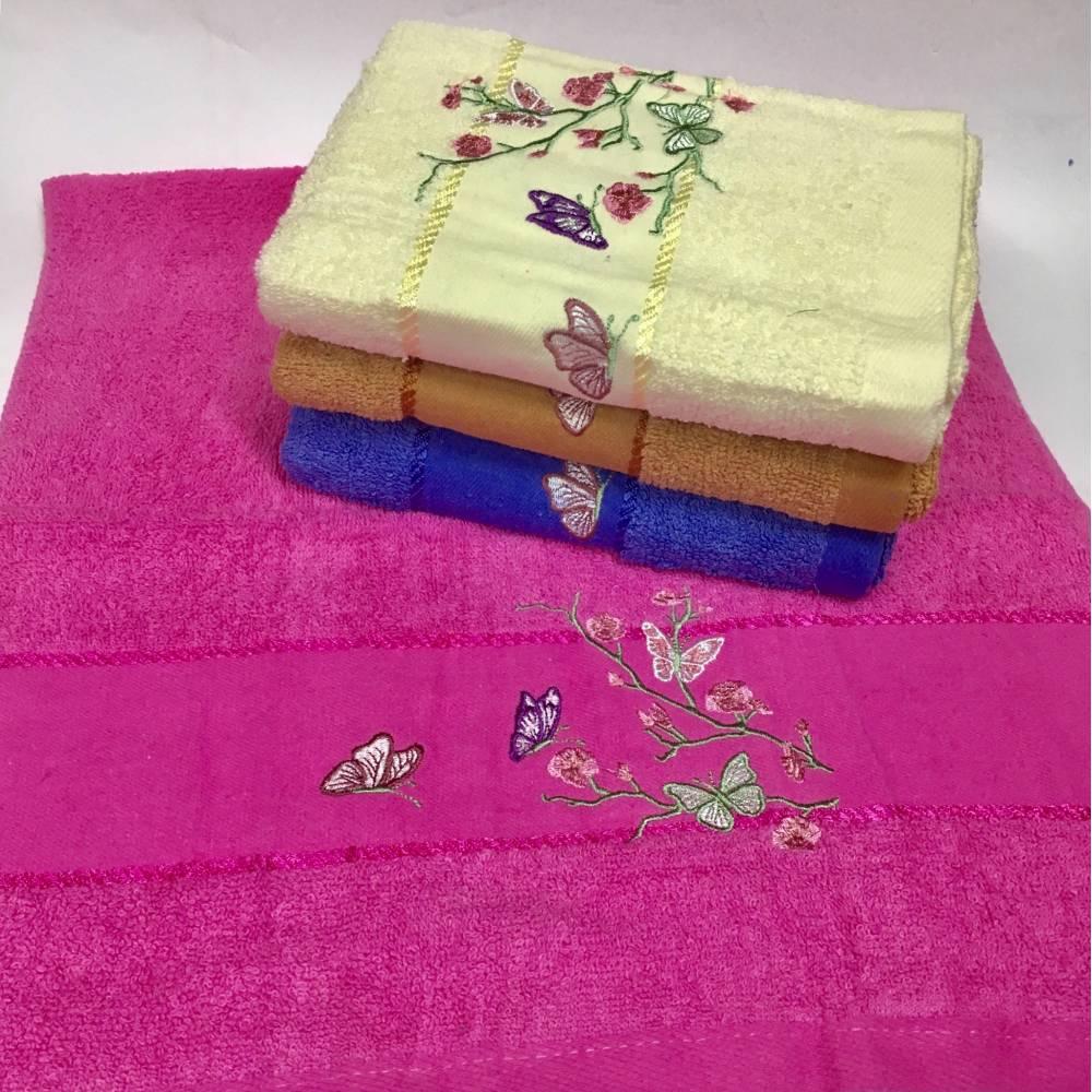 Метровые полотенца Веточка-Бабочка