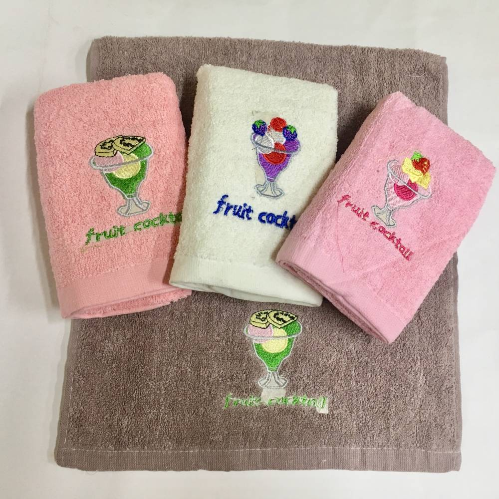 Кухонные полотенца Коктейль