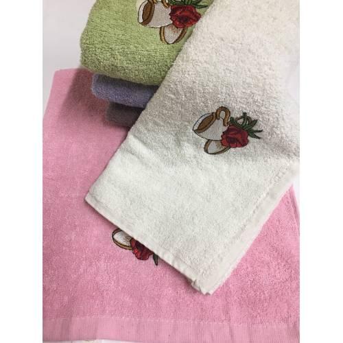 Кухонные полотенца Чайная Роза