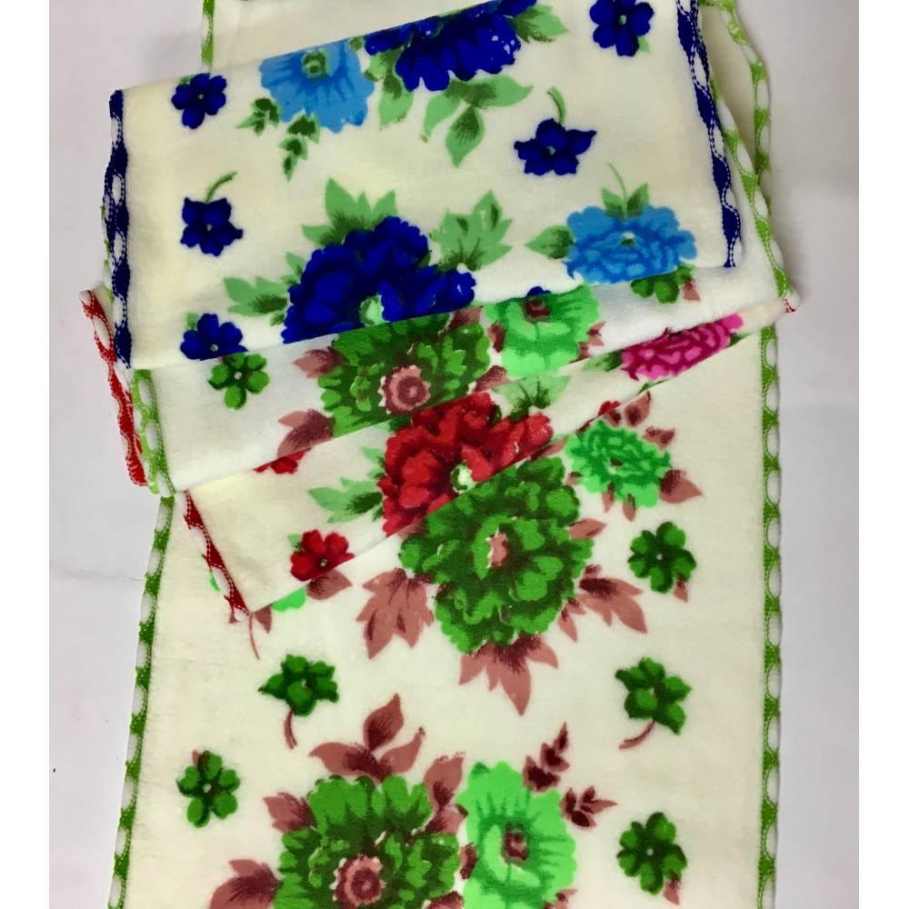 Кухонные полотенца Разноцветные розочки