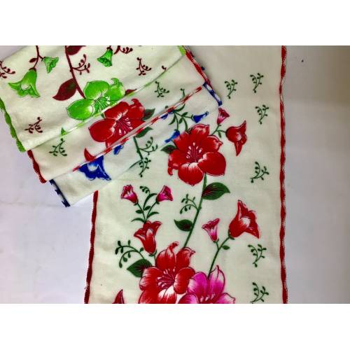 Кухонные полтенца Цветочки 05