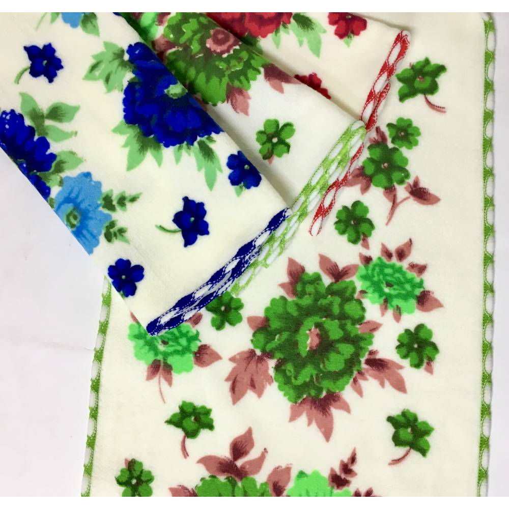 Полотенца для рук Разноцветные розочки