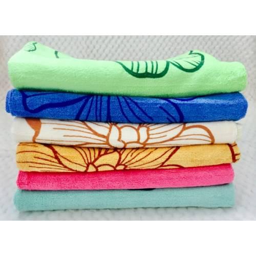 Банные полотенца Цветы