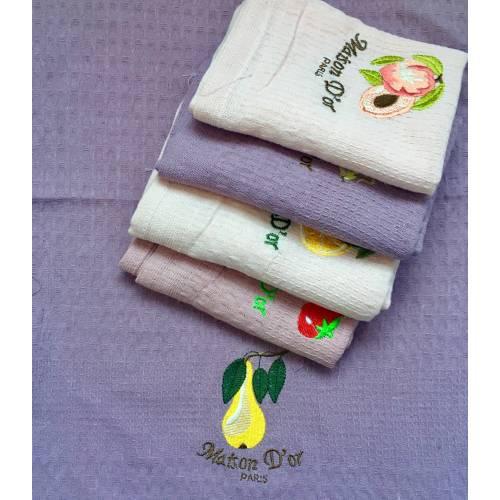 Вафельные полотенца Фрукты