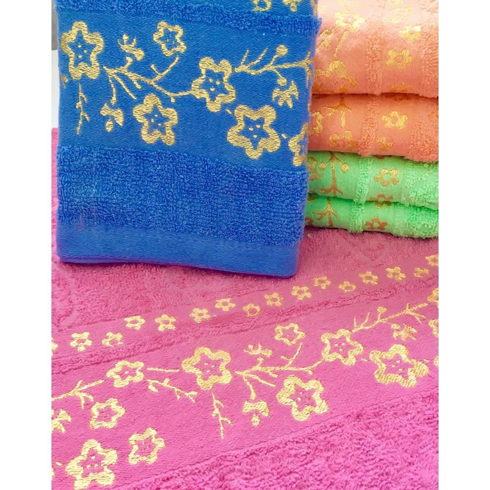 Метровые полотенца Сакура Золото