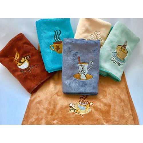 Кухонные полотенца Чашечка микрофибра