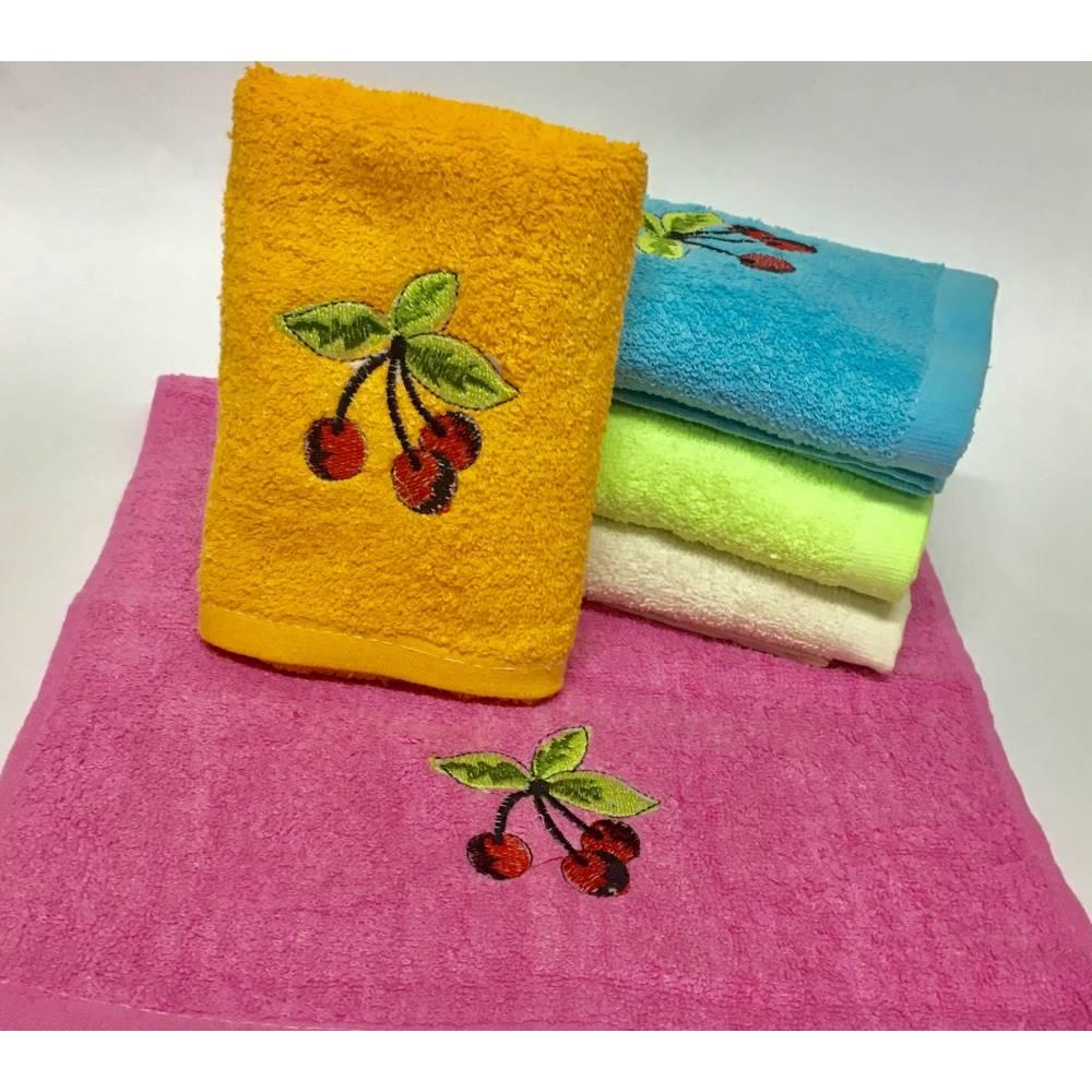 Кухонные полотенца Вишенка