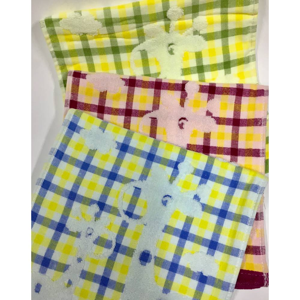 Полотенца для рук Клетка лен