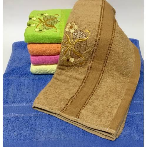 Банные полотенца Сердечко - Цветочек