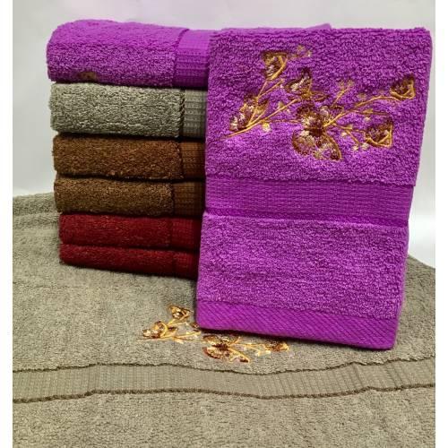 Метровые полотенца Веточка - бабочка