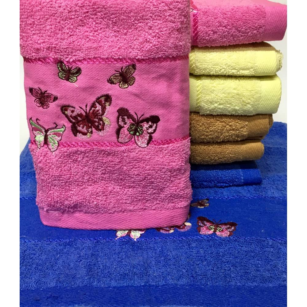 Метровые полотенца Бабочки