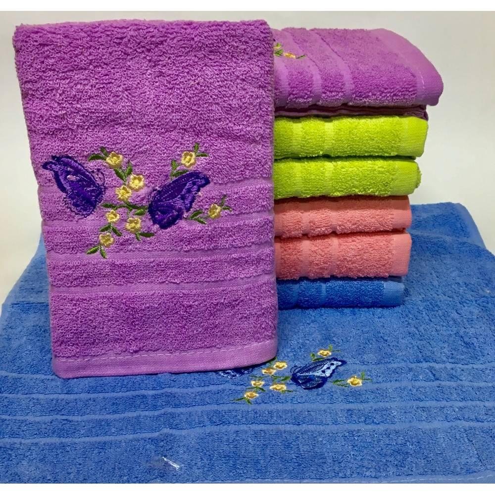 Метровые полотенца Бабочка - Весна