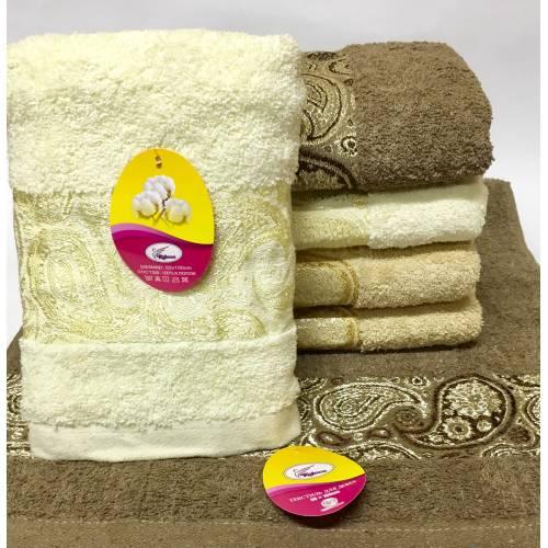 Метровые полотенца Золотой узор