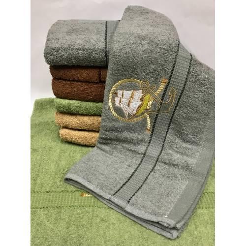 Метровые полотенца Парусник