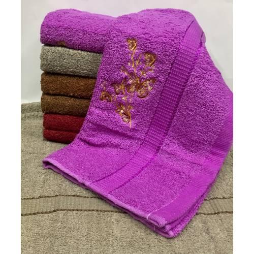 Банные полотенца Веточка - бабочка