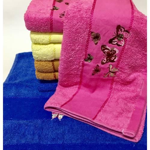 Банные полотенца Бабочки